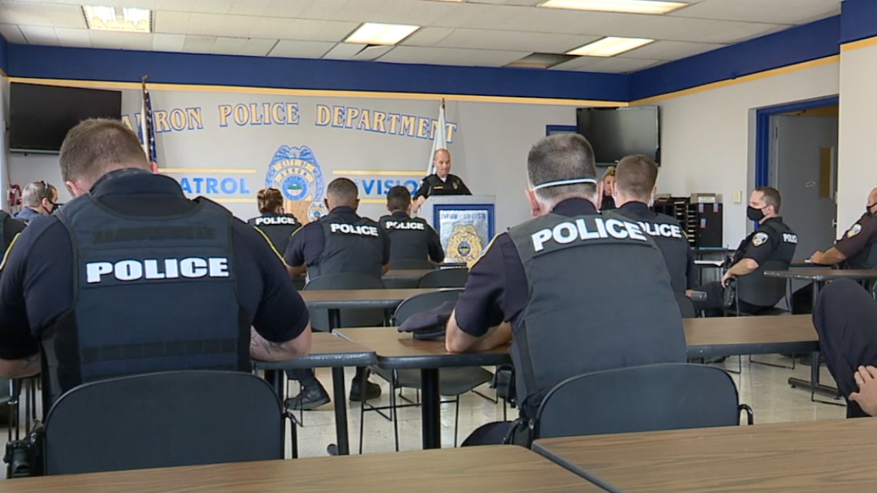 Akron working to 'reimagine public safety' and its police department