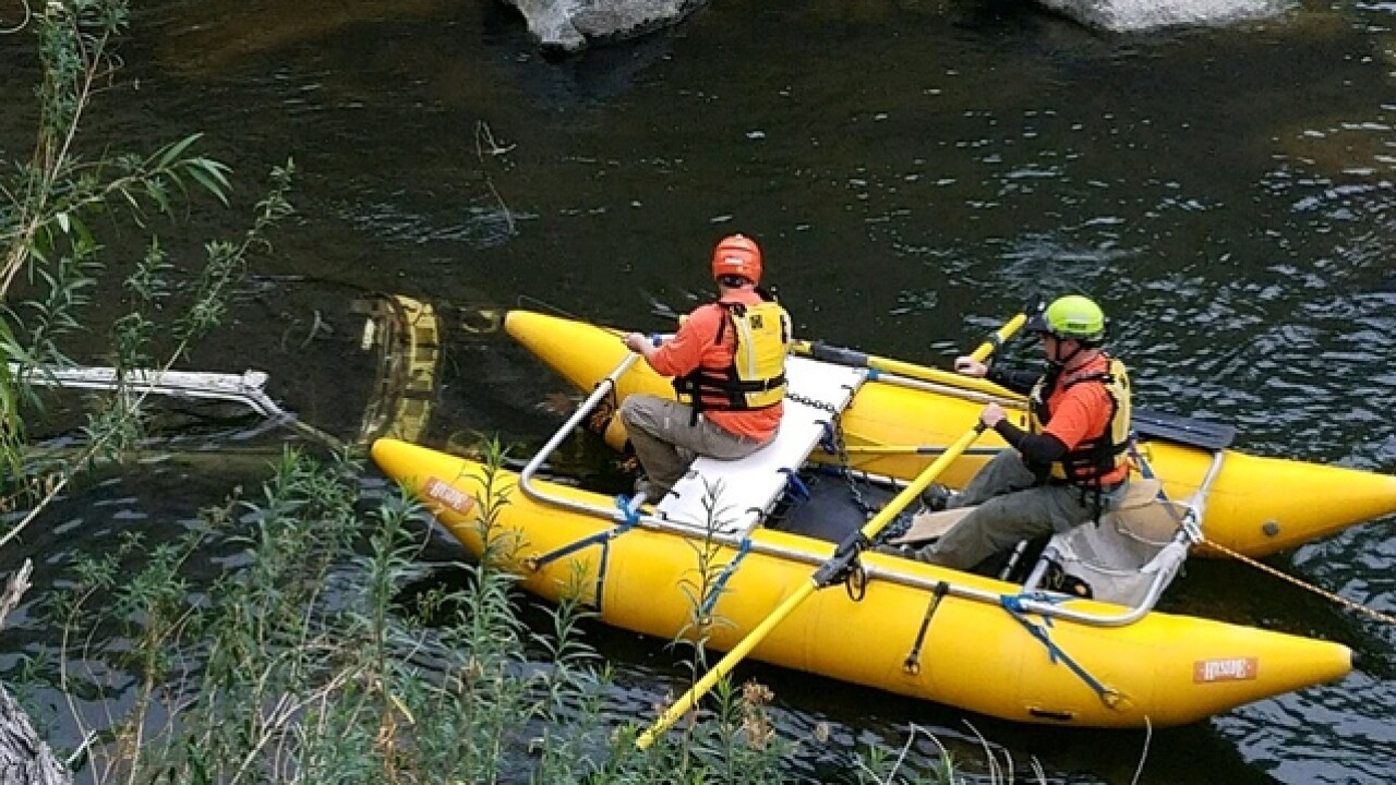 Three cars, body, quad bike found in Kern River