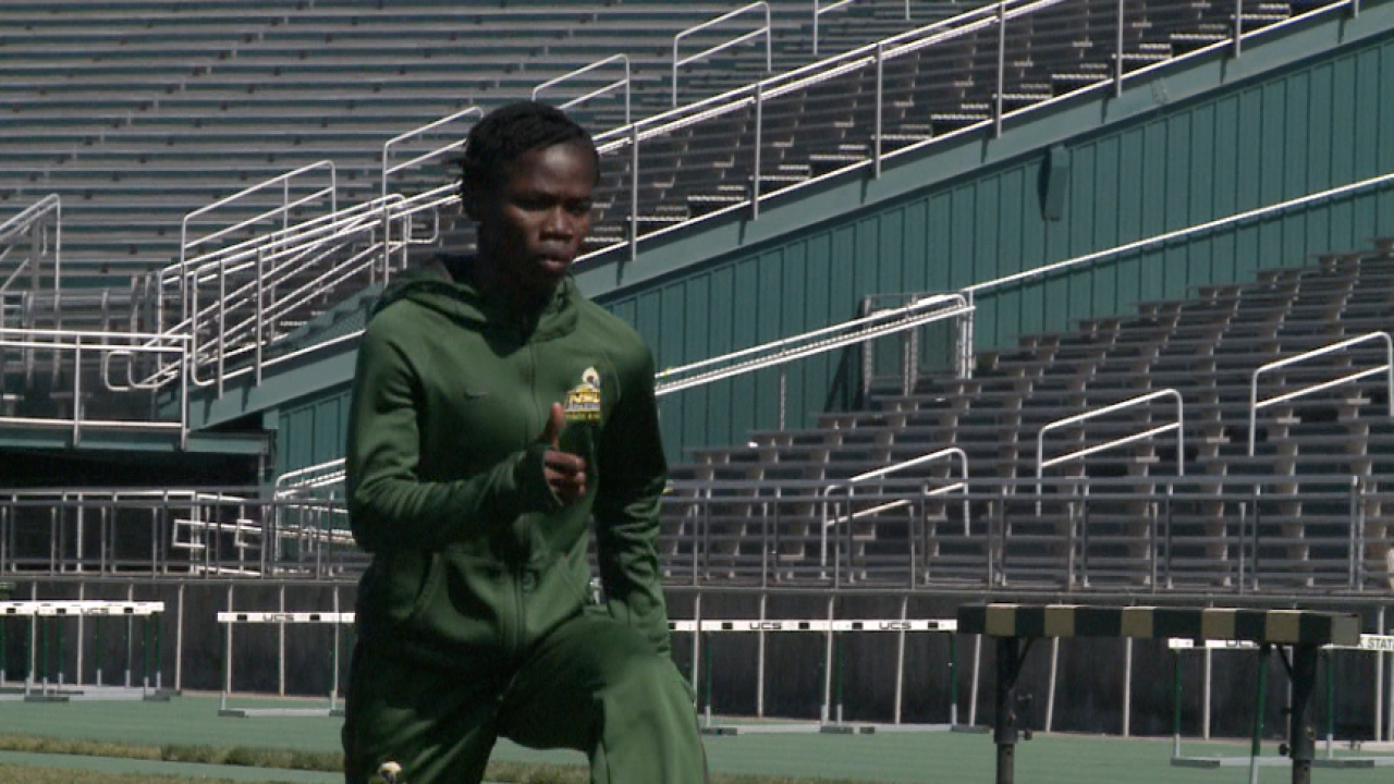 5,000 miles away from home, Norfolk State's Martha Bissah is bolting towardsgreatness