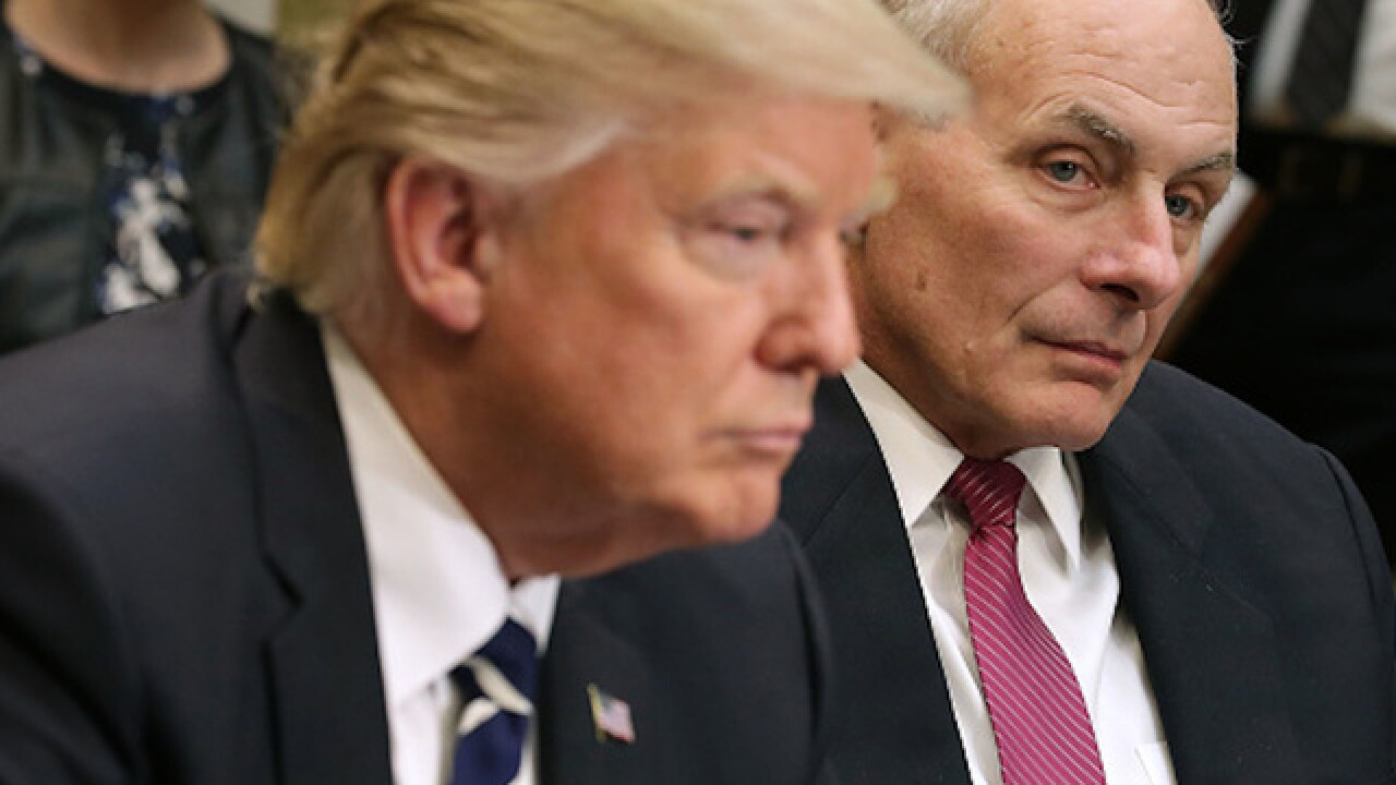 President Trump's advisers telling he doesn't need a chief of staff, communications director