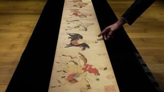 Hong Kong Scroll Auction