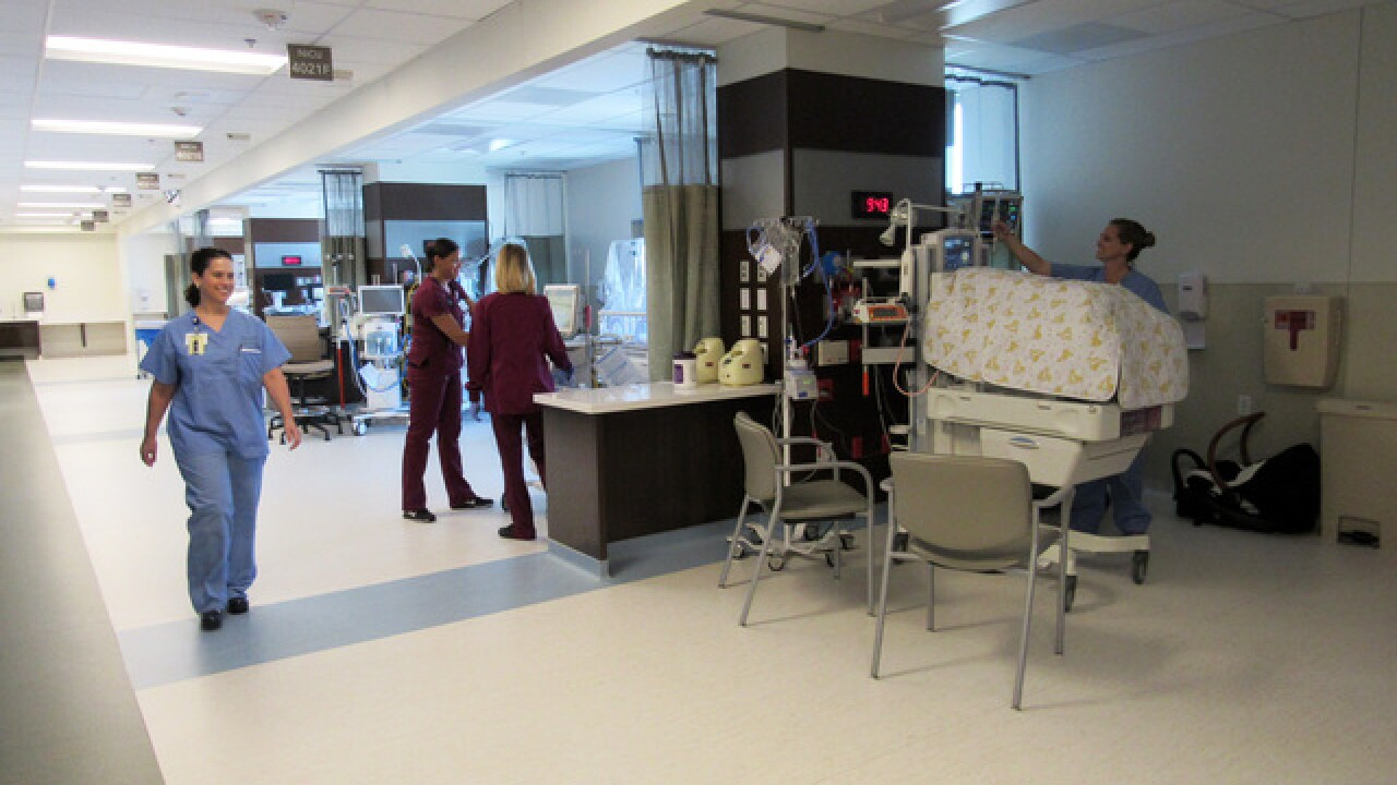 Henderson Hospital opens new neonatal unit