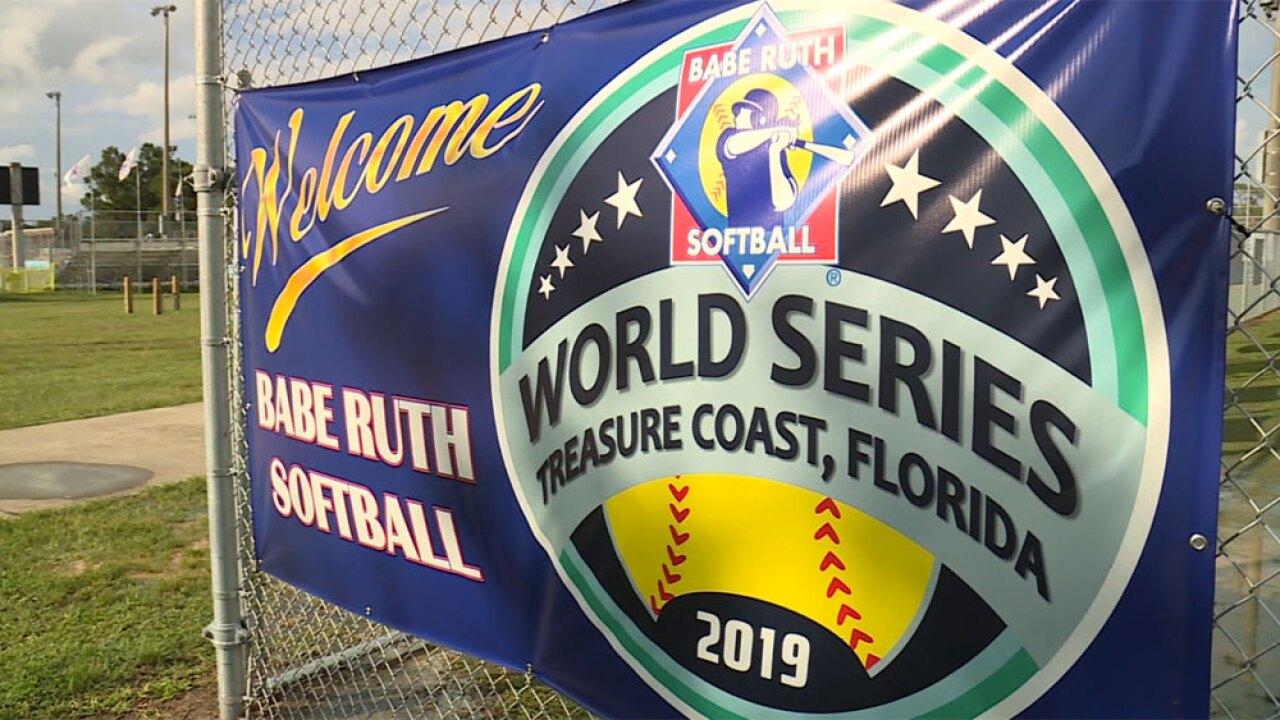 Babe Ruth Softball World Series 2019 held in Stuart, Florida