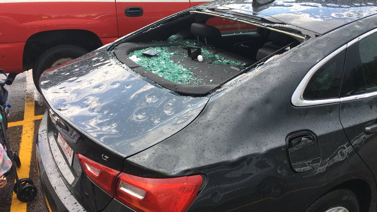 August 6th, 2018 CSFD Car Hail Damage