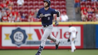 Ryan Braun AP photo in Cinncinati