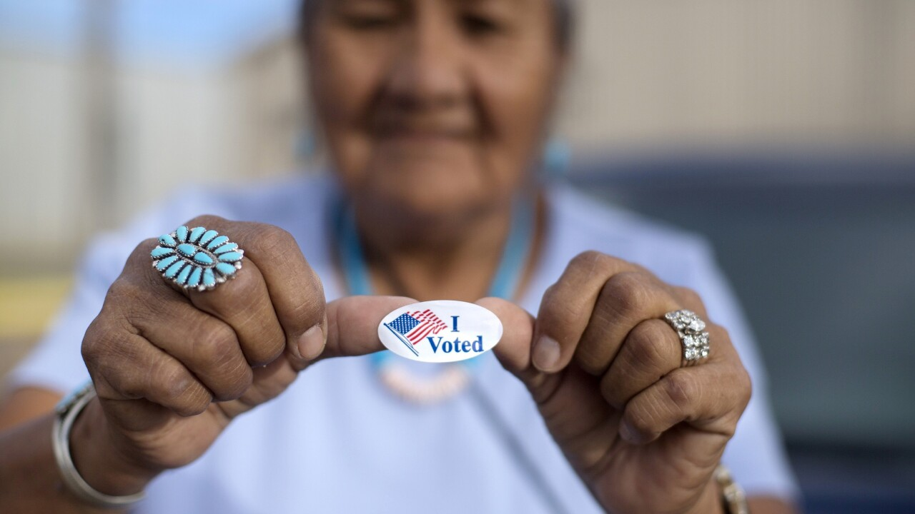 Native American advocates say a ruling this week by the U.S. Supreme Court in an Arizona voting rights case will impact tribes broadly. AP photo.