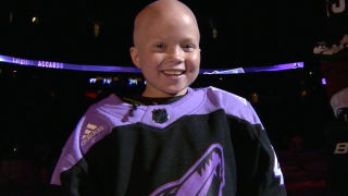 Arizona Coyotes fan Leighton Accardo died following battle with cancer