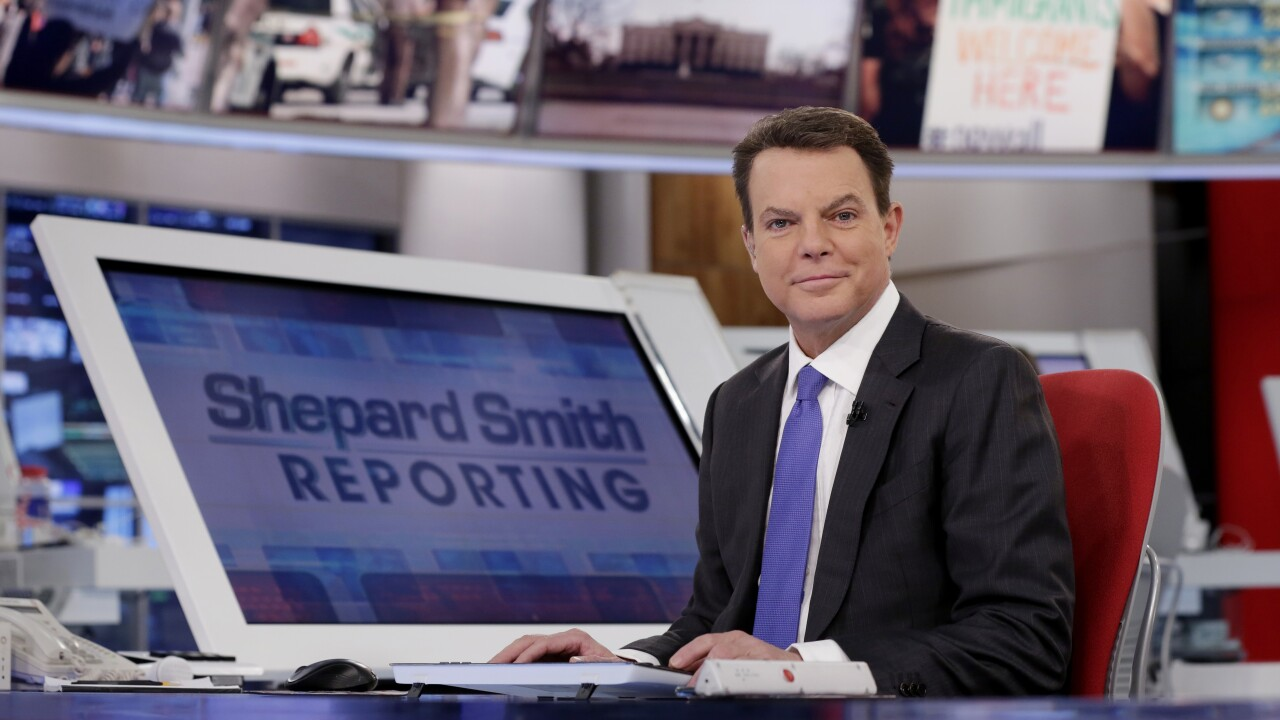 Shepard Smith hired by CNBC, will host evening newscast