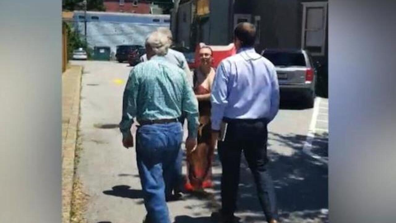 Mitch McConnell chased from Kentucky restaurant by protesters