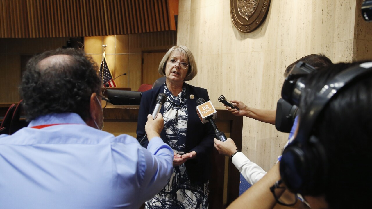 Maricopa County's elected leaders aren't interested in allowing a firm led by a backer of unfounded election fraud theories to use county facilities to recount 2.1 million ballots from November's election.