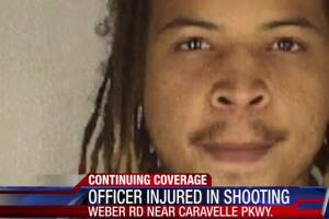 Blue alert issued for suspected shooter of CCPD officer