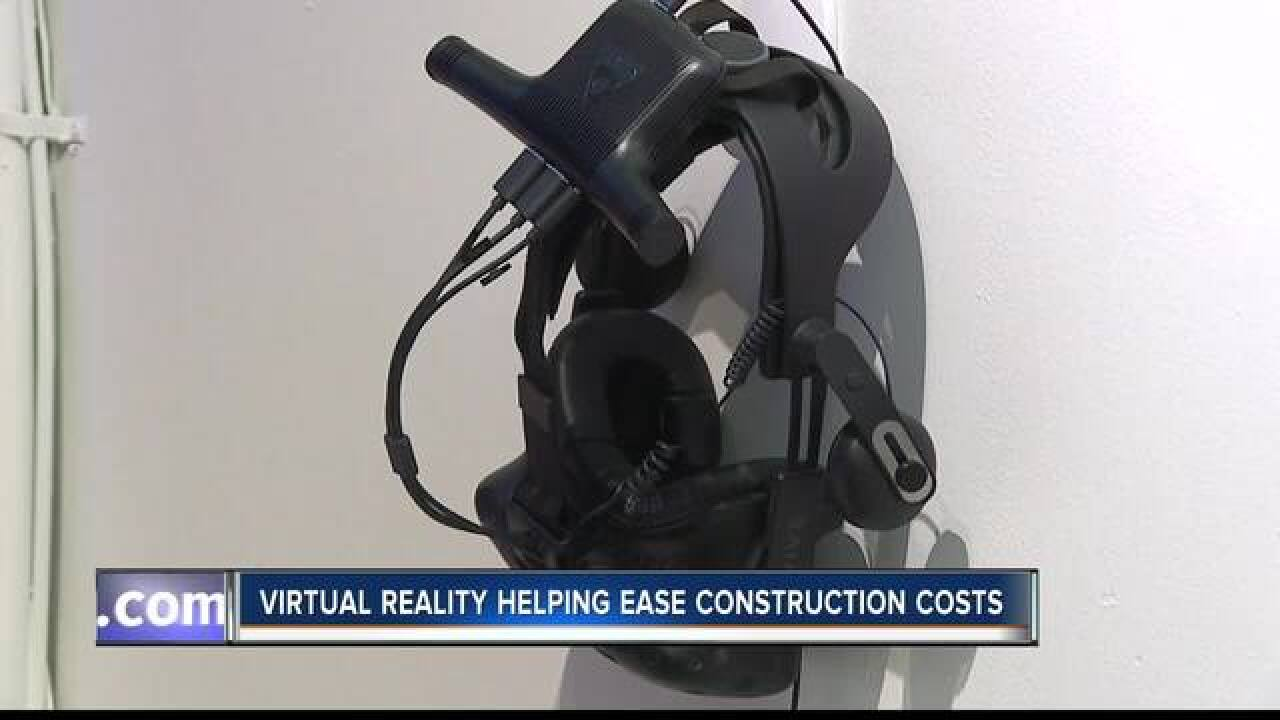 Virtual reality can reduce new home costs