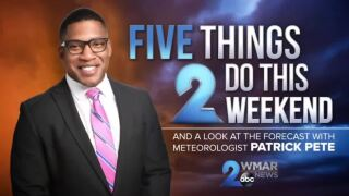 five things 2 do this weekend