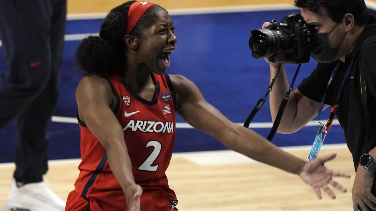 APTOPIX NCAA Final Four Arizona UConn Basketball