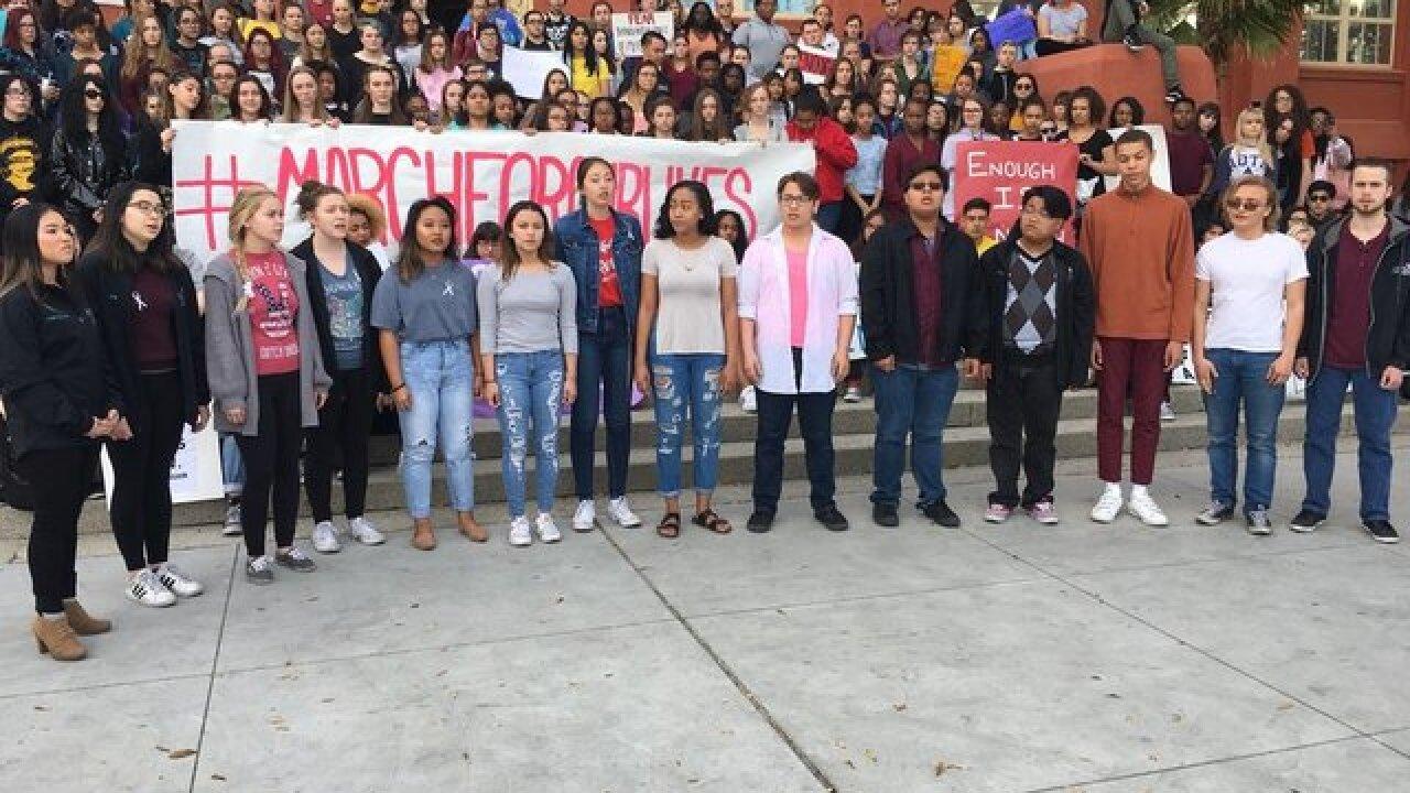 Students prepare for walkouts over gun reform