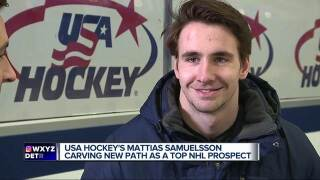 Western Michigan's Mattias Samuelsson signs entry-level deal with Sabres