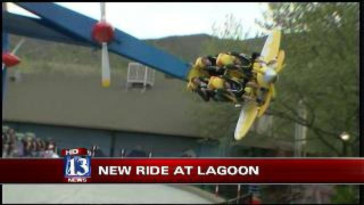 Budah checks out Lagoon's Air Race