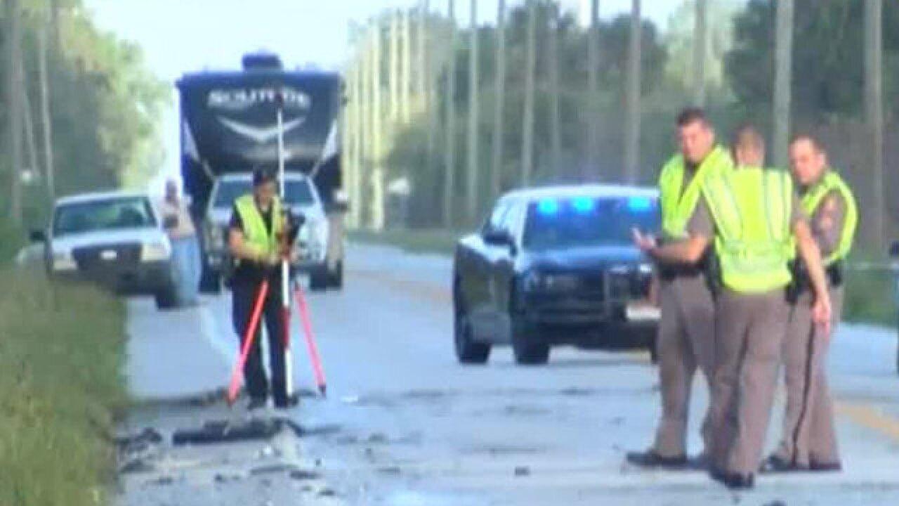 Fatal crash involving 5 vehicles near Indiantown; victim from Keystone Heights, Florida