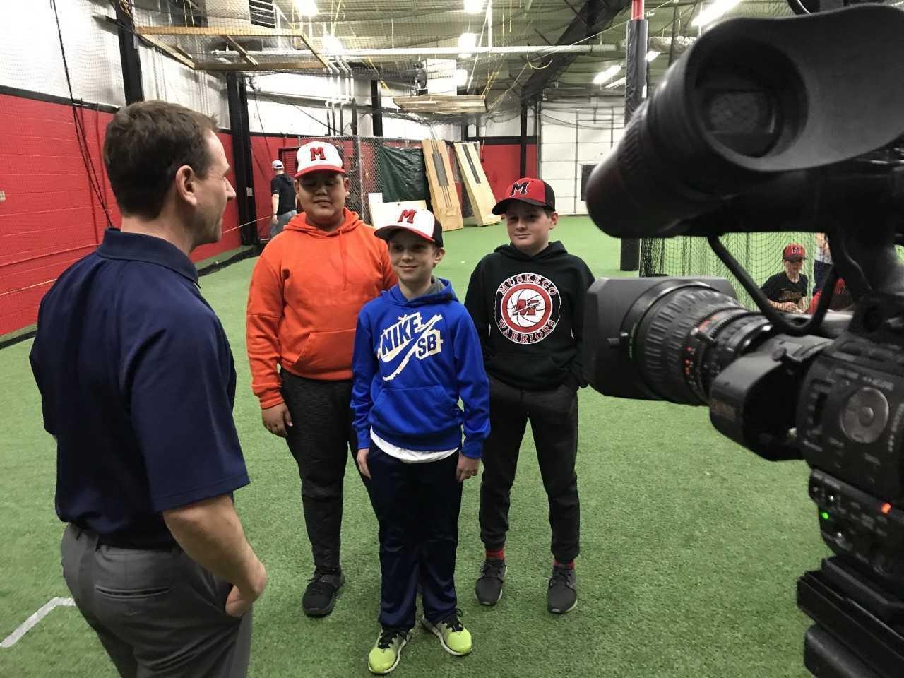 Vince Vitrano interviews muskego warriors U-12