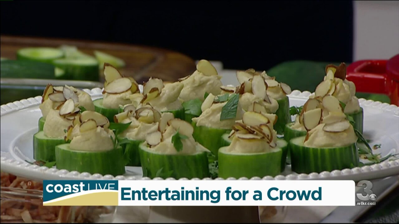 Expert advice for feeding a big crowd at your table on Coast Live
