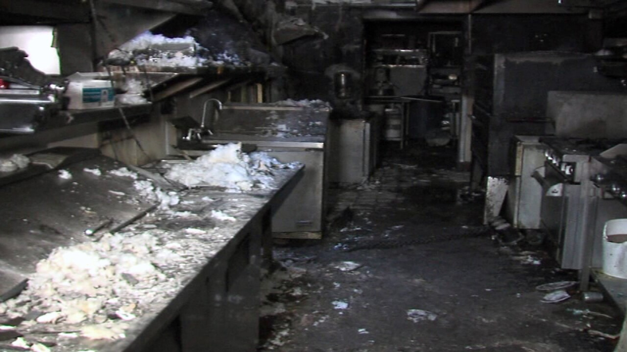 Fire damages popular Lakeside restaurant