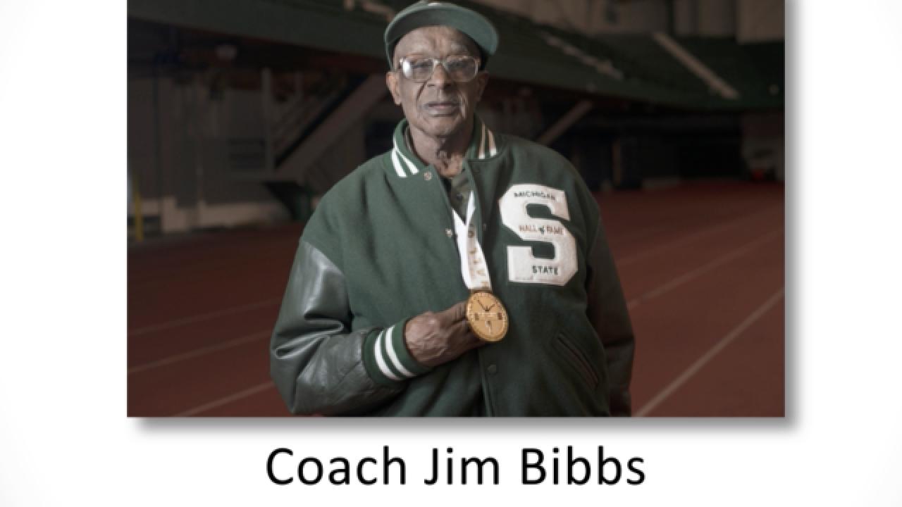 Jim Bibbs, MSU's 1st african American head coach