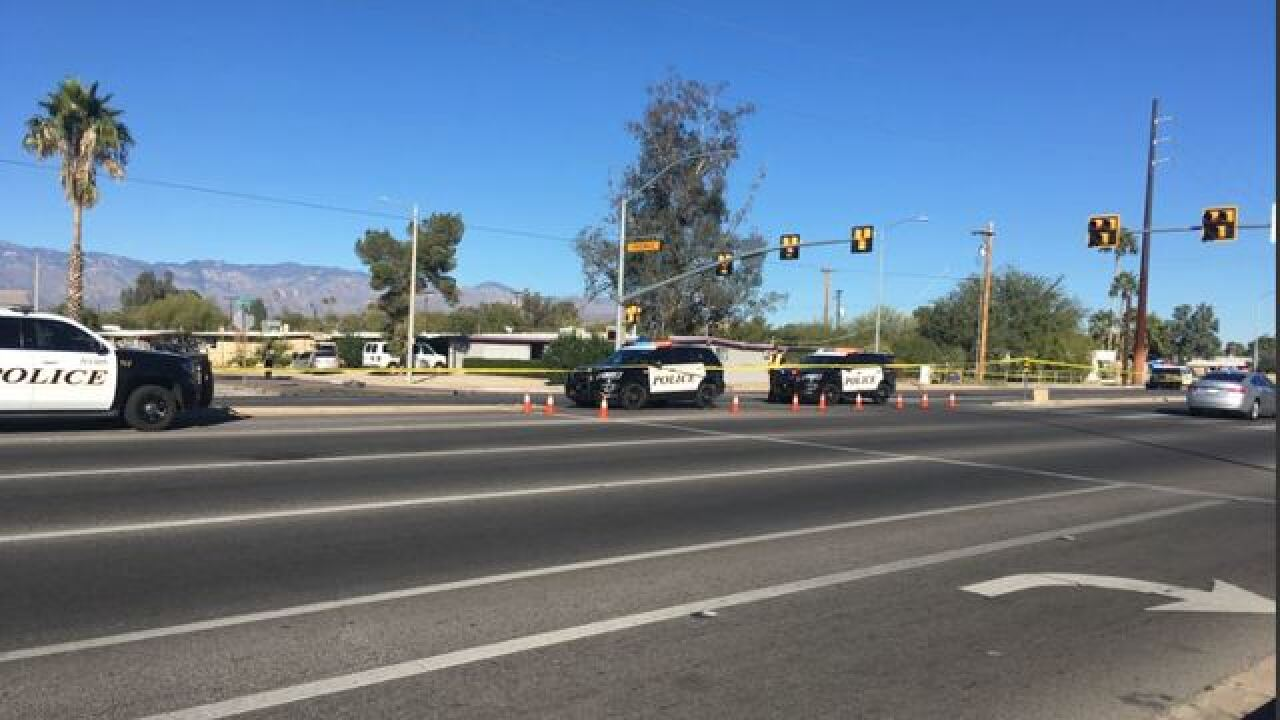 Accident on 22nd and Kolb