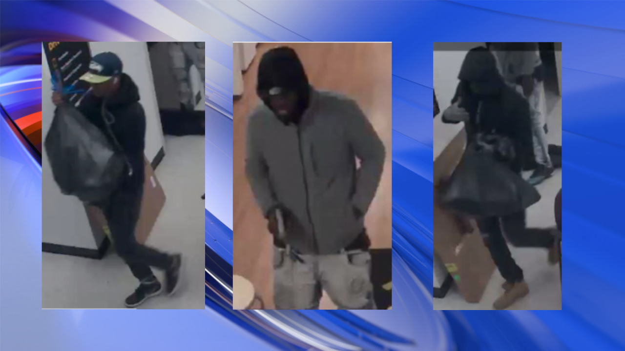 Suspects in string of cell phone store robberies arrested