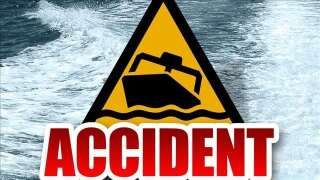 Wildlife agents working on boating fatality