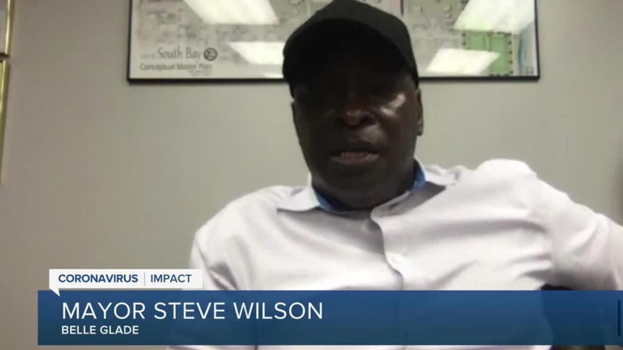 Belle Glade Mayor Steve Wilson