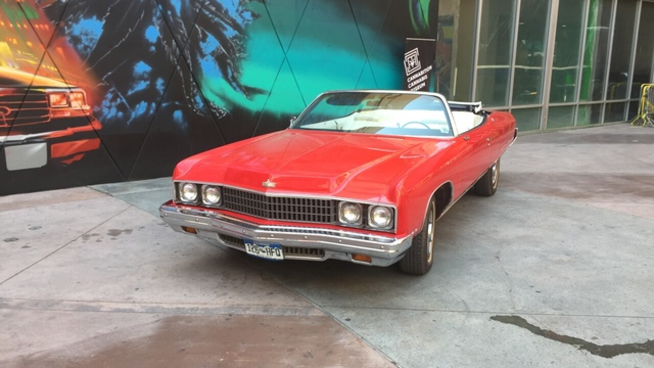 Red Shark car to be displayed at cannabis museum