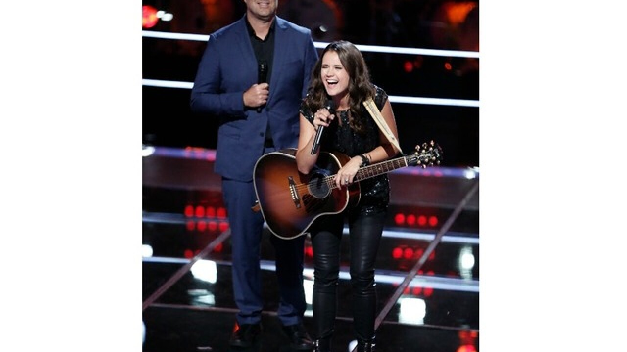 Tulsan Whiney Fenimore on The Voice Nov. 6