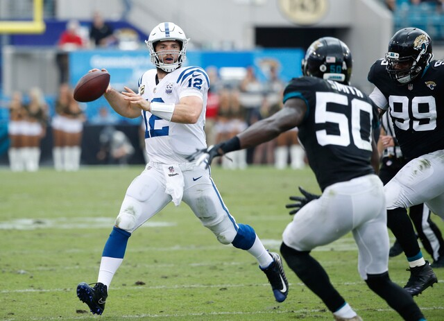 PHOTOS: Colts lose to Jaguars 6-0