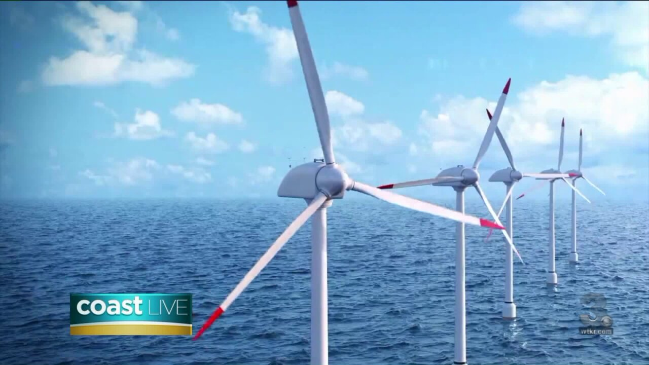 Learning about Dominion Energy's offshore wind project on Coast Live