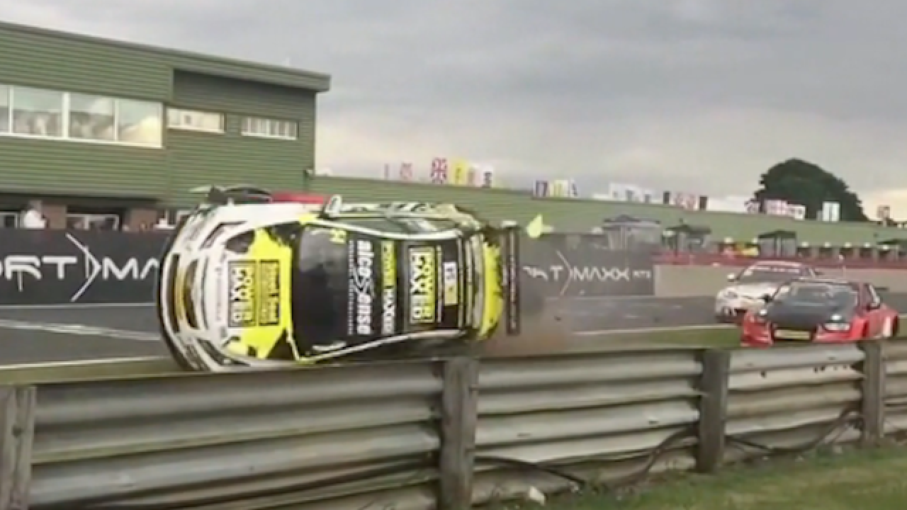 VIDEO: Crazy crashes caught on camera