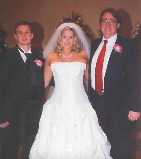 Found Wedding Dress