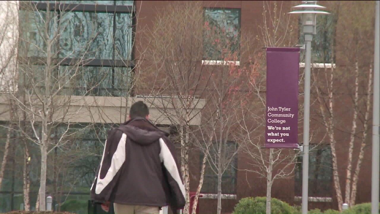John Tyler Community College student contractsmeningitis