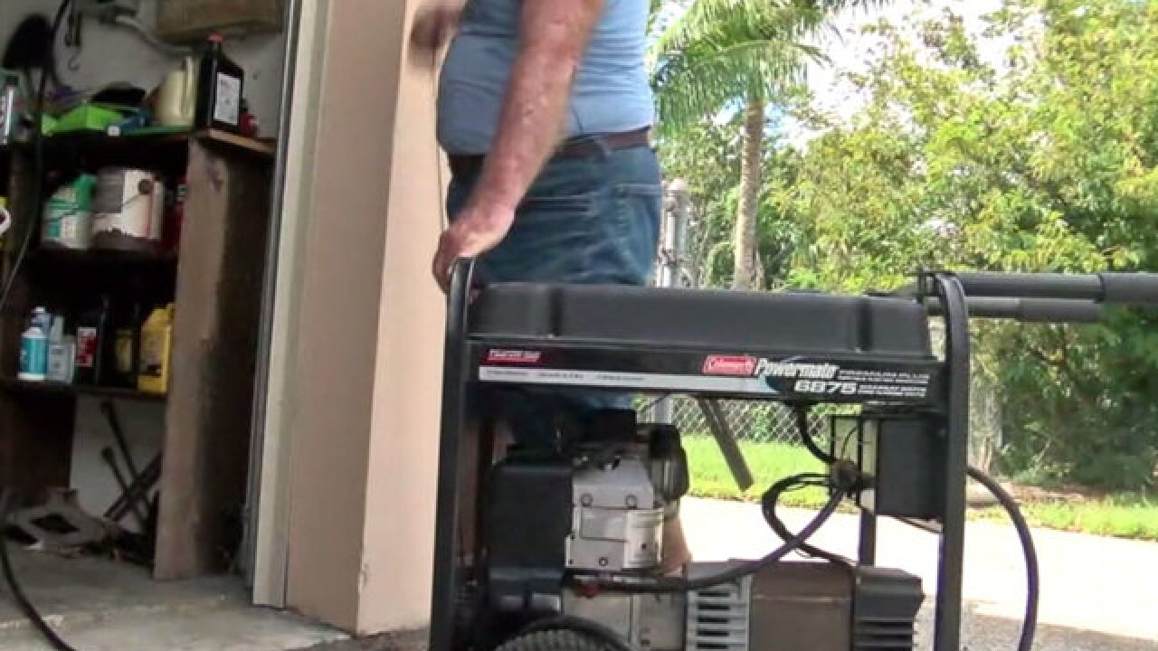 How to safely use a generator during an outage