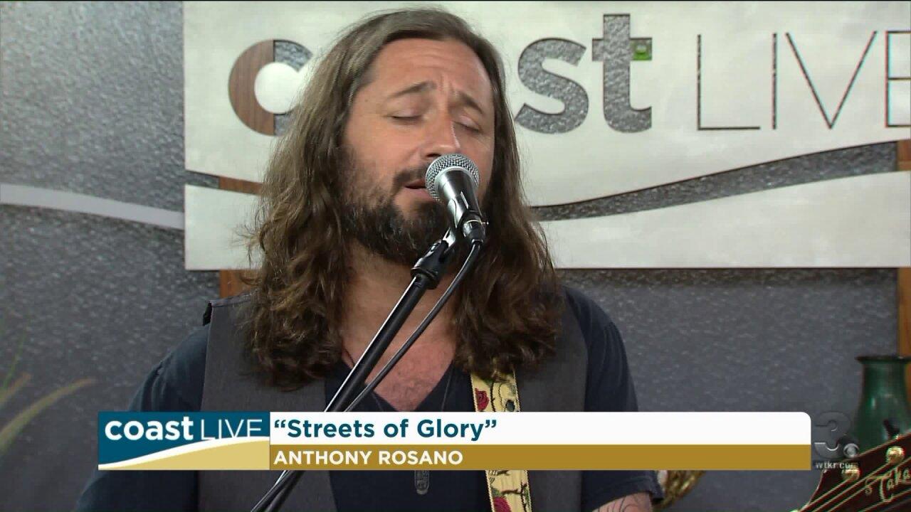 Local music spotlight with Anthony Rosano on CoastLive