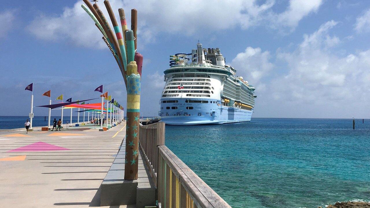 Royal Caribbean's Freedom of the Seas cruise ship