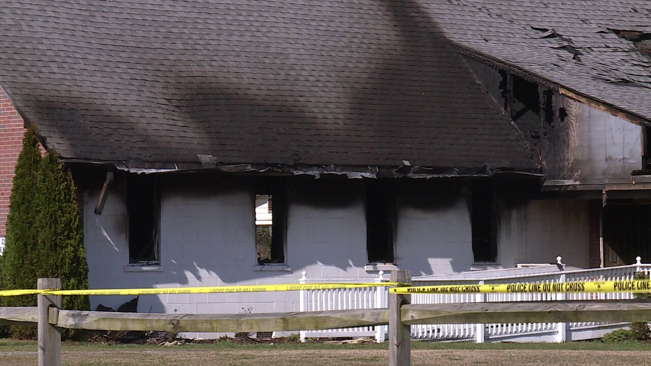 Juvenile identified as suspect in Hopewell church arson