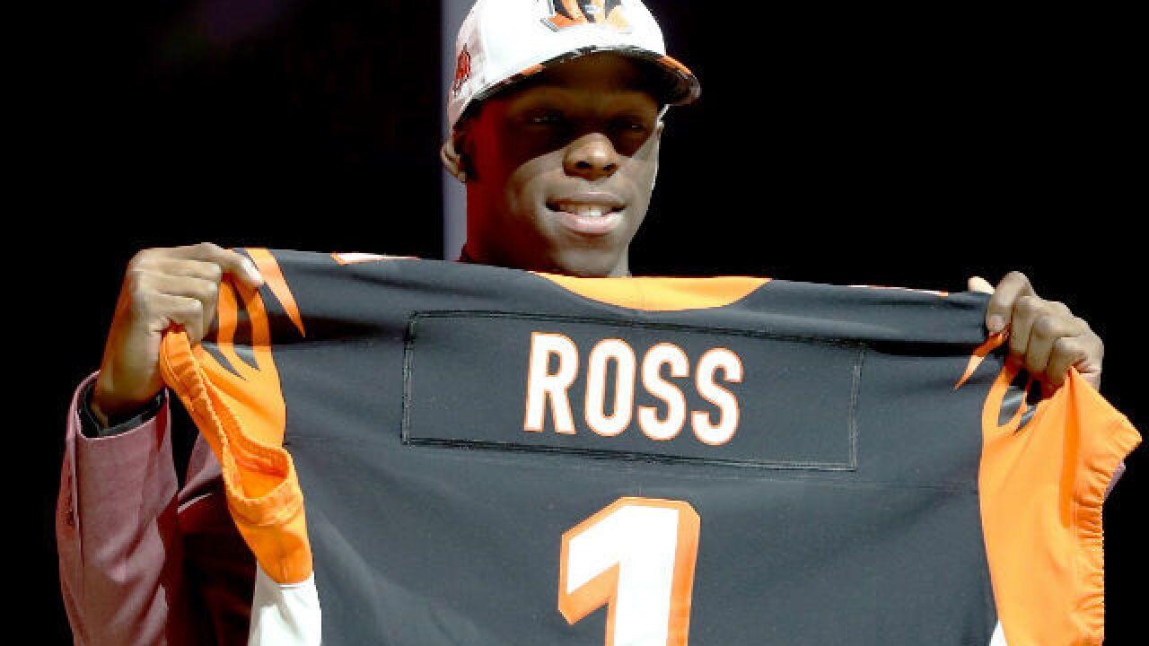 premium selection fad84 6e13e Cincinnati Bengals squash John Ross trade rumors at the NFL ...