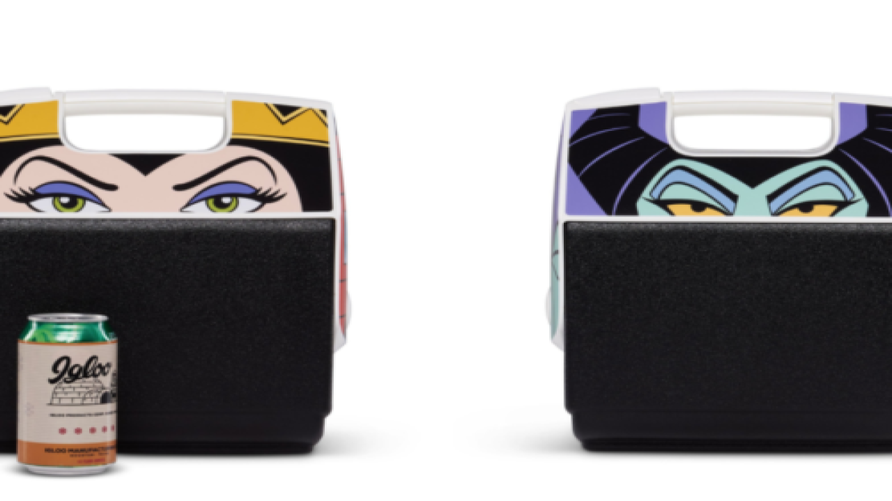 New Igloo Coolers Feature All The Best Disney Villains