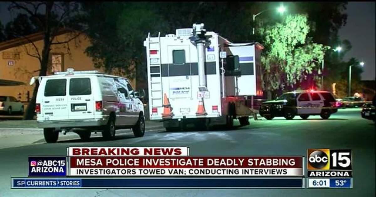 Man dead after overnight stabbing in Mesa