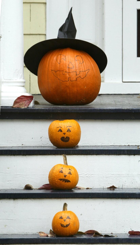 People Prepare For Halloween