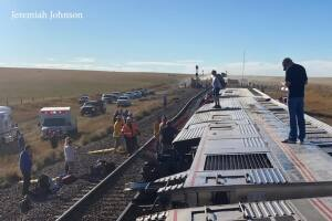 Several dead, numerous injuries reported in Amtrak train derailment along Hi-Line
