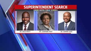 Final 3 candidates for GRPS superintendent