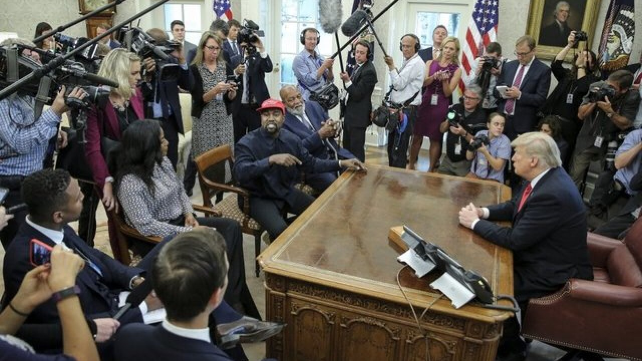 After White House visit, Kanye West says he is distancing himself from politics