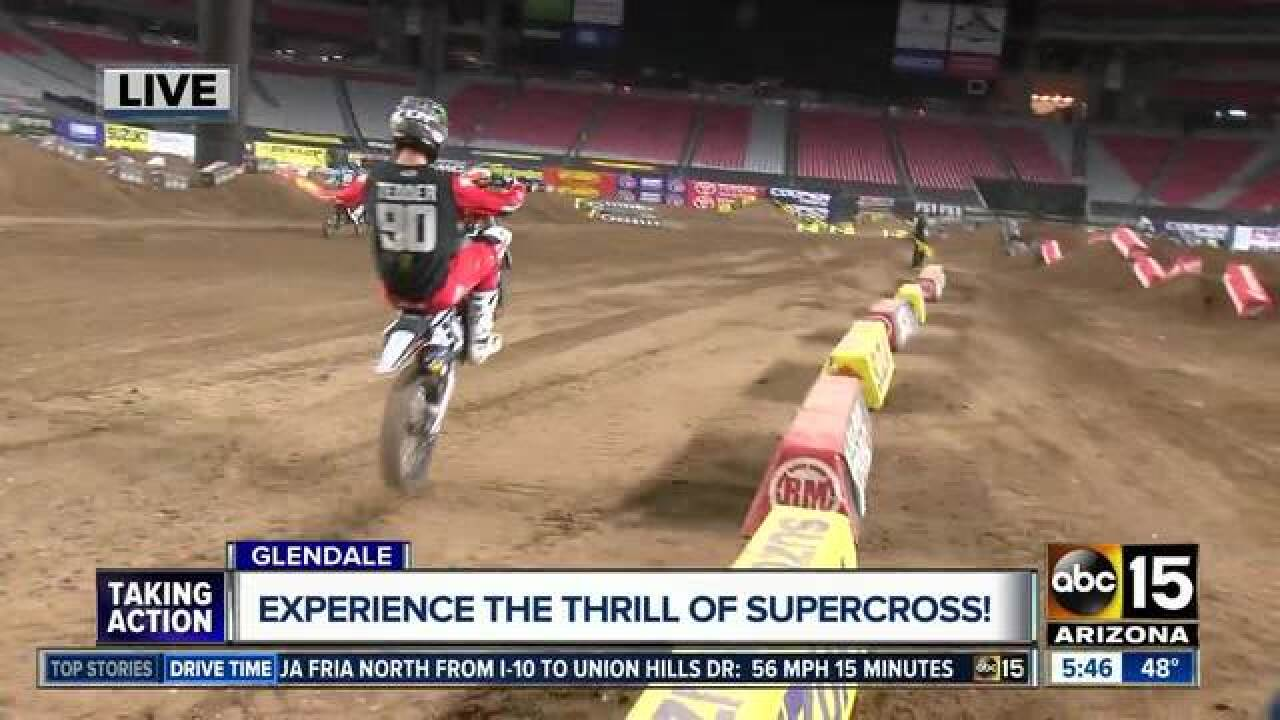 See Supercross in Glendale on Saturday