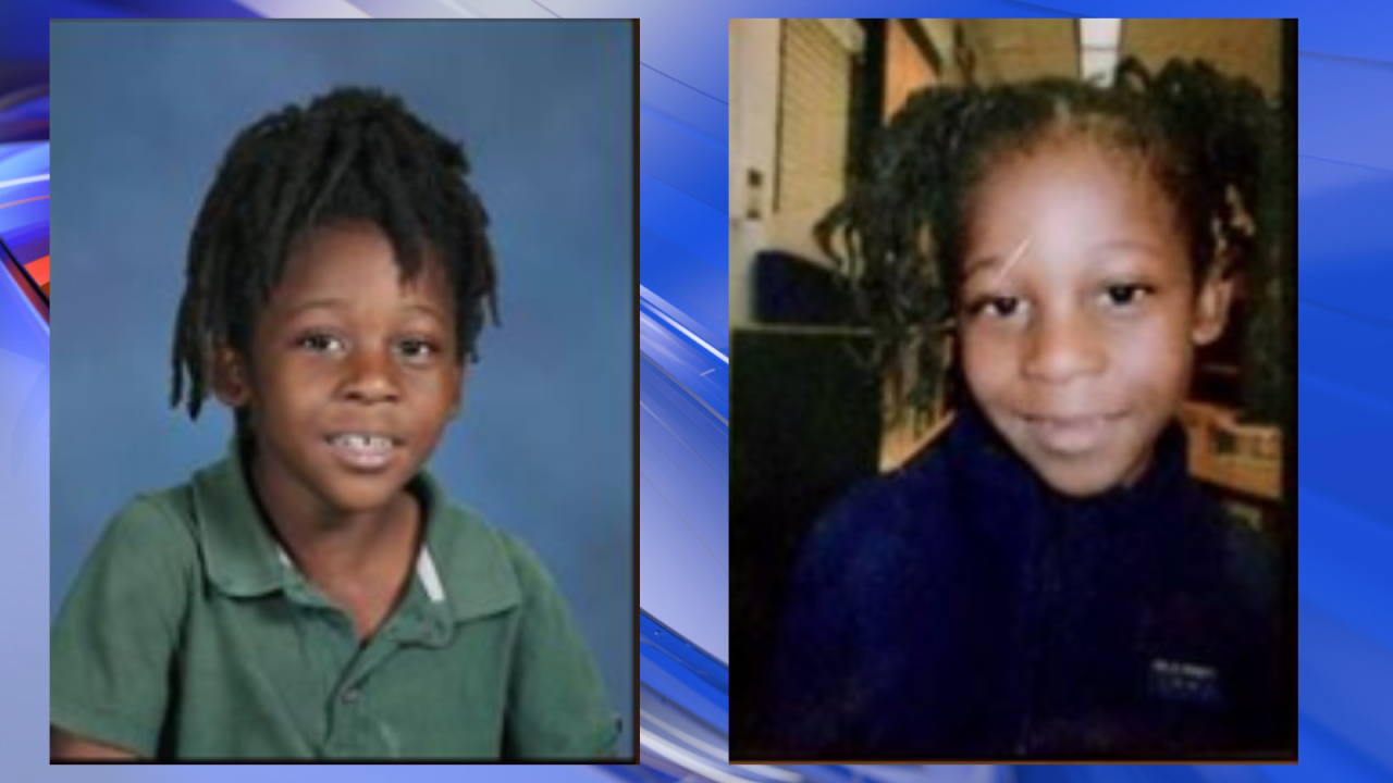 Siblings who vanished from their Jacksonville, Florida yard are found safe